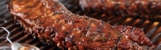 Tangy Grilled Back Ribs Hr